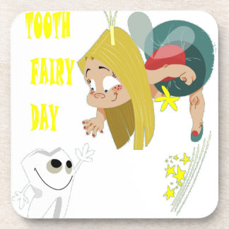 28th February - Tooth Fairy Day - Appreciation Day Coaster