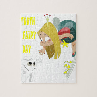 28th February - Tooth Fairy Day - Appreciation Day Jigsaw Puzzle