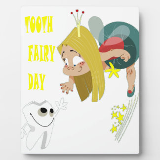 28th February - Tooth Fairy Day - Appreciation Day Plaque