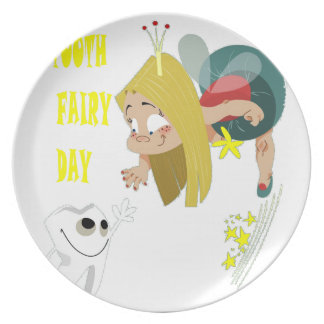 28th February - Tooth Fairy Day - Appreciation Day Plate
