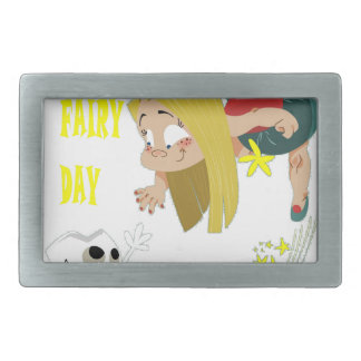 28th February - Tooth Fairy Day - Appreciation Day Rectangular Belt Buckle