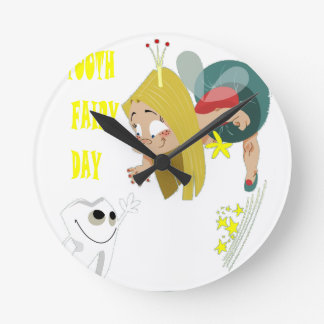 28th February - Tooth Fairy Day - Appreciation Day Round Clock