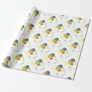 28th February - Tooth Fairy Day - Appreciation Day Wrapping Paper