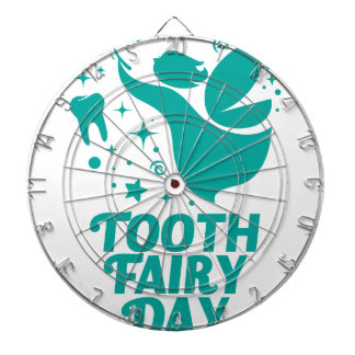 28th February - Tooth Fairy Day Dartboards