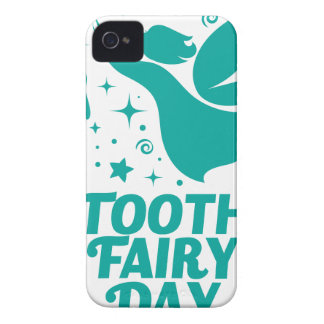 28th February - Tooth Fairy Day iPhone 4 Case-Mate Cases