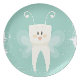 28th February - Tooth Fairy Day Plates