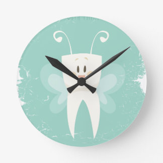 28th February - Tooth Fairy Day Round Clock