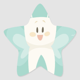 28th February - Tooth Fairy Day Star Sticker