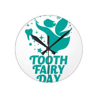 28th February - Tooth Fairy Day Wallclocks