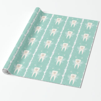 28th February - Tooth Fairy Day Wrapping Paper