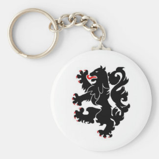 28th inf black lions keychain
