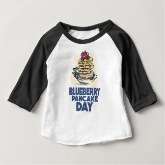 28th January - Blueberry Pancake Day Baby T-Shirt