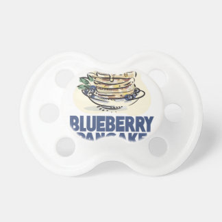 28th January - Blueberry Pancake Day Pacifier