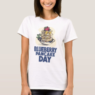 28th January - Blueberry Pancake Day T-Shirt
