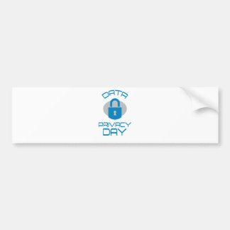 28th January - Data Privacy Day - Appreciation Day Bumper Sticker