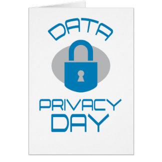28th January - Data Privacy Day - Appreciation Day Card