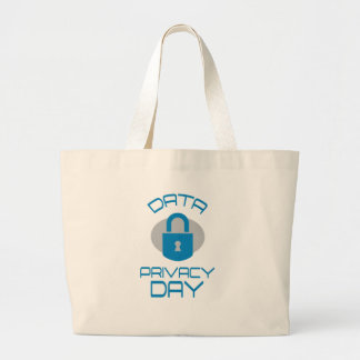 28th January - Data Privacy Day - Appreciation Day Large Tote Bag
