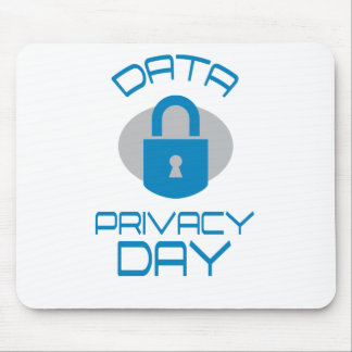 28th January - Data Privacy Day - Appreciation Day Mouse Pad
