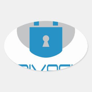 28th January - Data Privacy Day - Appreciation Day Oval Sticker