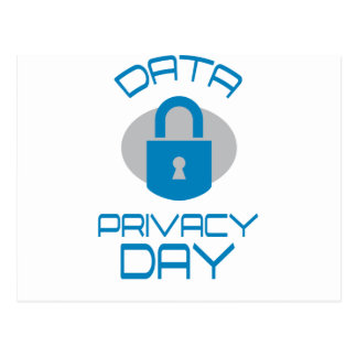 28th January - Data Privacy Day - Appreciation Day Postcard