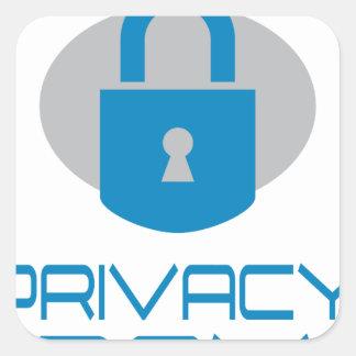 28th January - Data Privacy Day - Appreciation Day Square Sticker