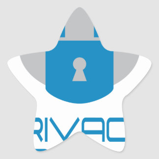 28th January - Data Privacy Day - Appreciation Day Star Sticker