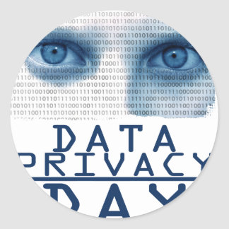 28th January - Data Privacy Day Classic Round Sticker
