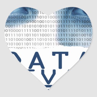 28th January - Data Privacy Day Heart Sticker