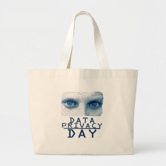 28th January - Data Privacy Day Large Tote Bag