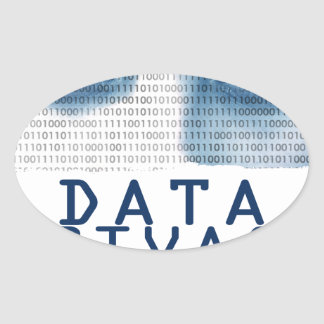 28th January - Data Privacy Day Oval Sticker