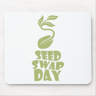 28th January - Seed Swap Day - Appreciation Day Mouse Pad