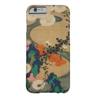 29. 菊花流水図, 若冲 Chrysanthemum & Stream, Jakuchū Barely There iPhone 6 Case