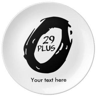 29+ bike plate