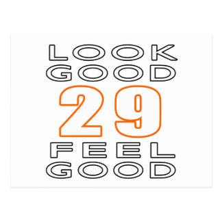 29 Look Good Feel Good Postcard