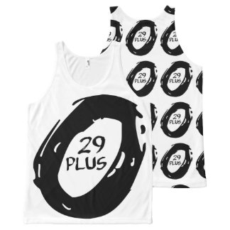 29 plus mountsin bike wheel All-Over-Print tank top