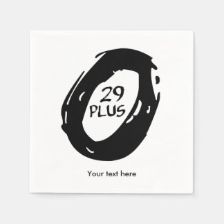 29er Plus bike Disposable Napkins