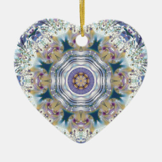 29Mandalas from the Heart of Freedom 29 Gifts Ceramic Ornament