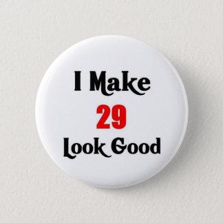 29th Birthday 2 Inch Round Button