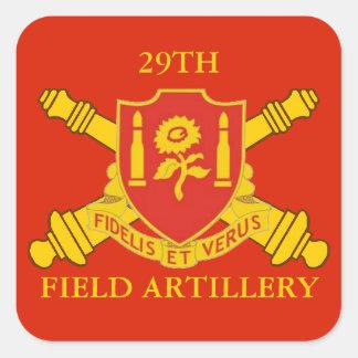 29TH FIELD ARTILLERY STICKERS