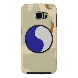 """29th Infantry Division """"29 Lets Go!"""" Desert Camo Samsung Galaxy S6 Cases"""