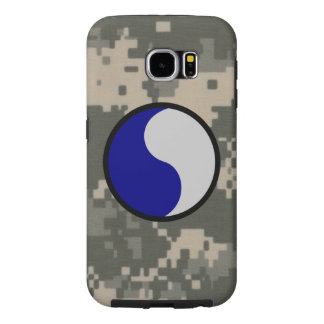 """29th Infantry Division """"29 Lets Go!"""" Digital Camo Samsung Galaxy S6 Cases"""