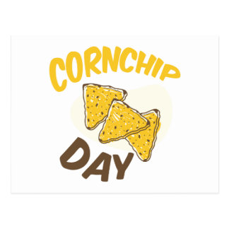 29th January - Cornchip Day Postcard