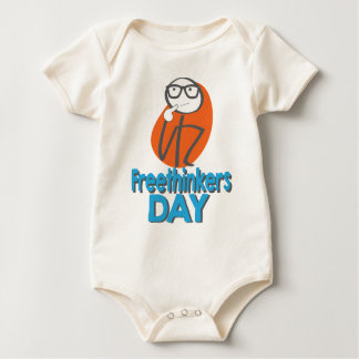 29th January - Freethinkers Day Baby Bodysuit