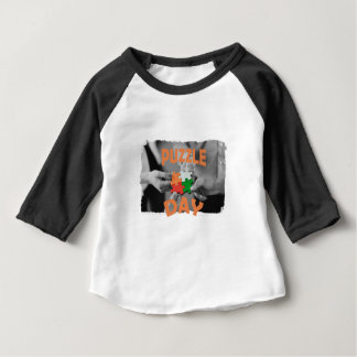 29th January - Puzzle Day - Appreciation Day Baby T-Shirt
