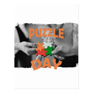 29th January - Puzzle Day - Appreciation Day Postcard
