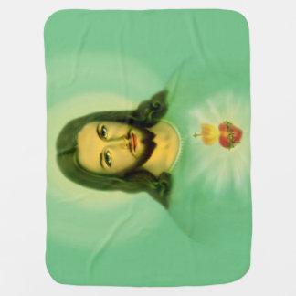 29x39 Sacred Heart Baby Blanket