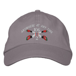 2-106th Cavalry Afghanistan Crossed Sabers Hat Embroidered Hats