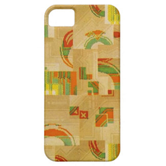 #2 1930s Deco linoleum design iPhone 5 Covers
