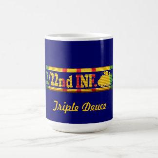 2/22nd Inf., 25th Inf. Div. VSR Triple Deuce Mug