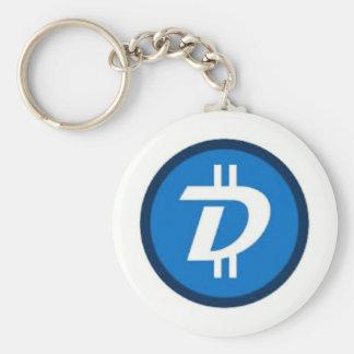 """2.25"""" Basic Button Digibyte Keychain"""